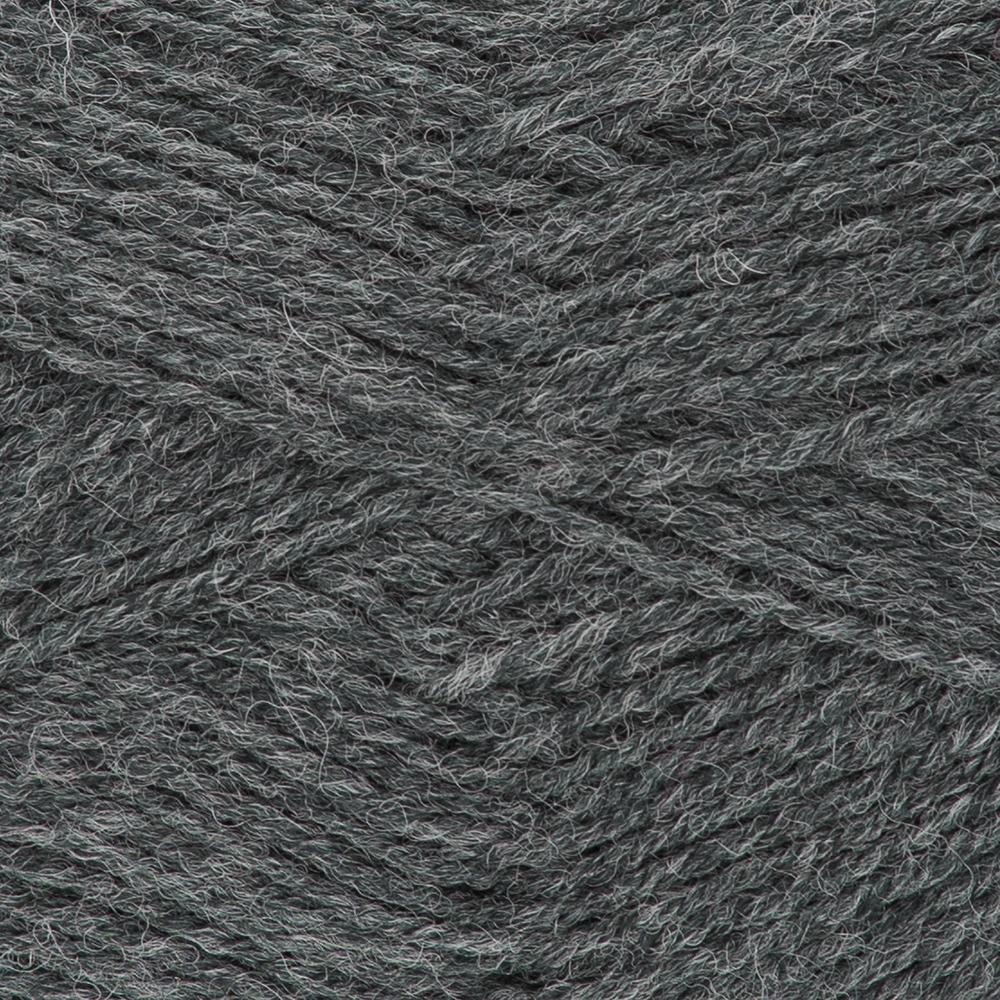 Kremke Soul Wool Edelweiss 50 Anthracite solid
