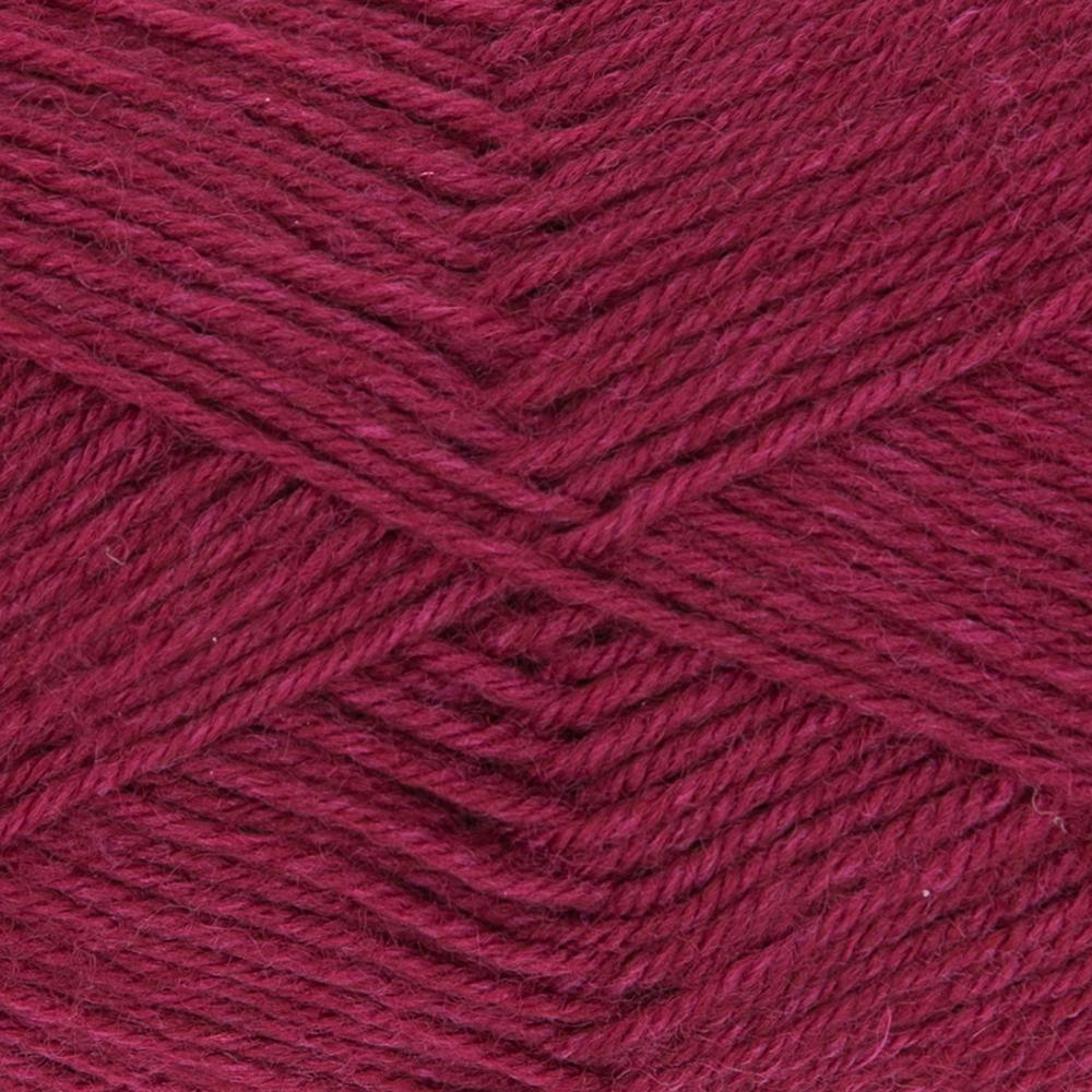 Kremke Soul Wool Edelweiss 50 Dark red solid