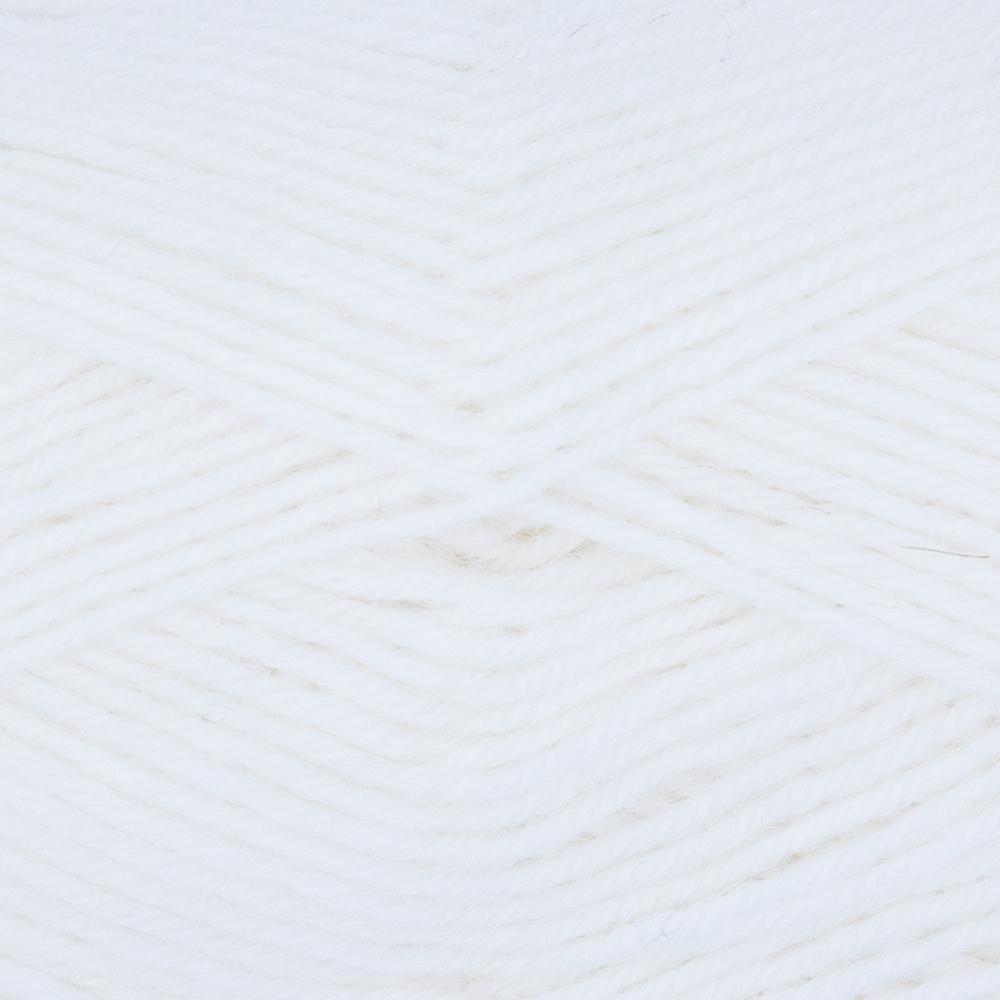Kremke Soul Wool Edelweiss 50  Weiß uni