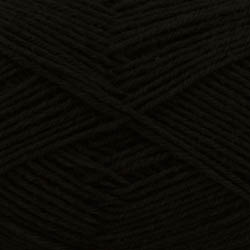 Kremke Soul Wool Edelweiss 50 Black solid