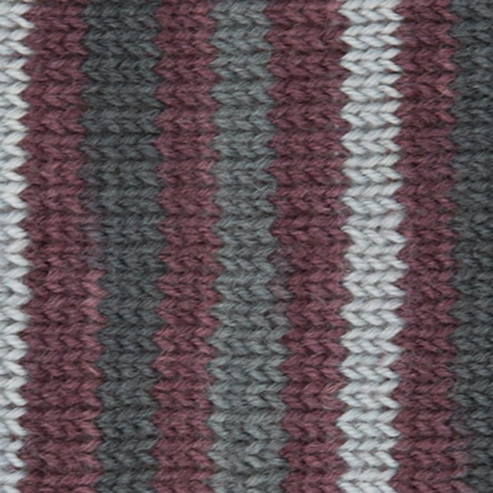Kremke Soul Wool Edelweiss 4ply 100 Grey Brown striped