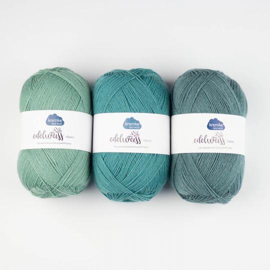 Kremke Soul Wool Edelweiss 4ply 100