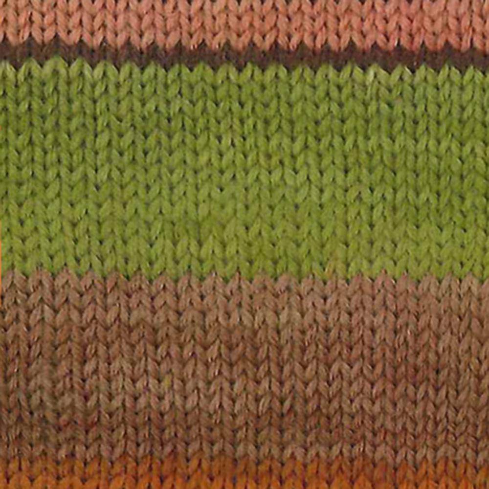 Kremke Soul Wool Edelweiss 6 ply 150 Autumn striped