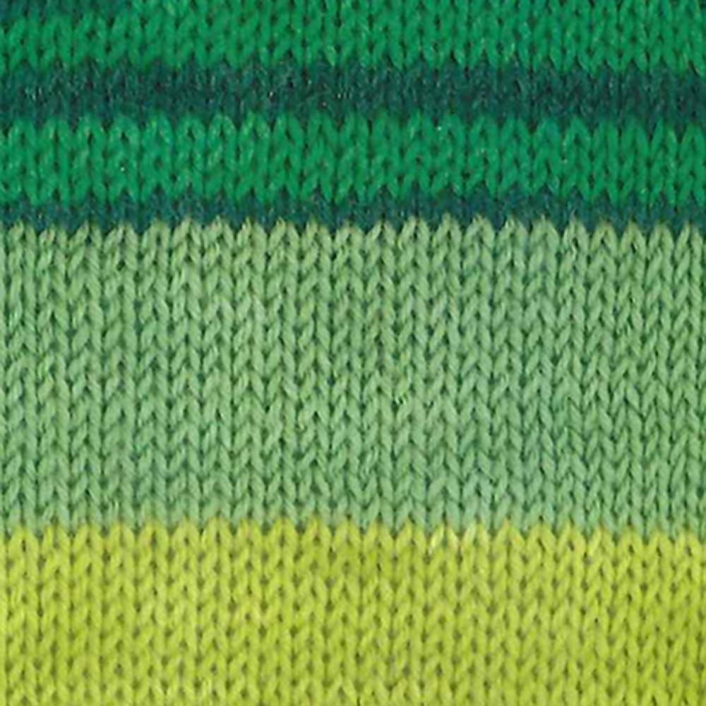 Kremke Soul Wool Edelweiss 6 ply 150 Grüne Blätter