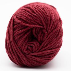 Kremke Soul Wool Karma Cotton, recycled bomuld Bordeaux