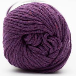 Kremke Soul Wool Karma Cotton, recycled bomuld Plum