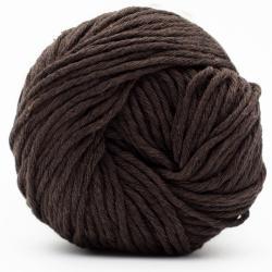 Kremke Soul Wool Karma Cotton, recycled bomuld Dark Chocolate
