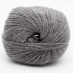Kremke Soul Wool Eco Cashmere Fingering 25g Mittelgraumeliert