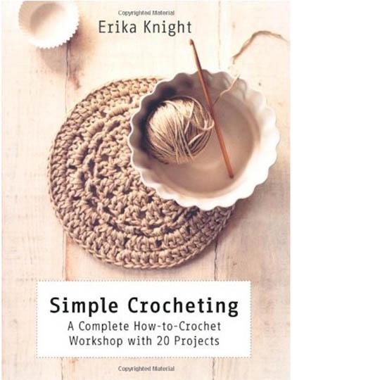 Erika Knight Book Simple Crochet English