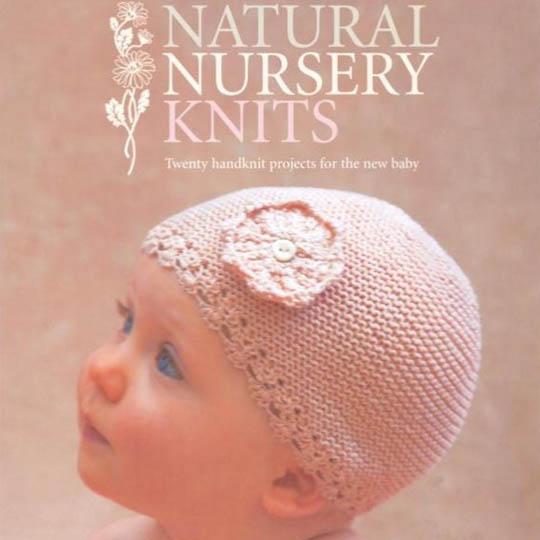 Erika Knight Book Natural Nursery Knits English