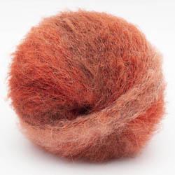 Kremke Soul Wool Baby Silk Fluffy Flerfarvet Rostrot