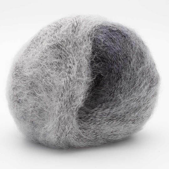 Kremke Soul Wool Baby Silk Fluffy Flerfarvet Silber