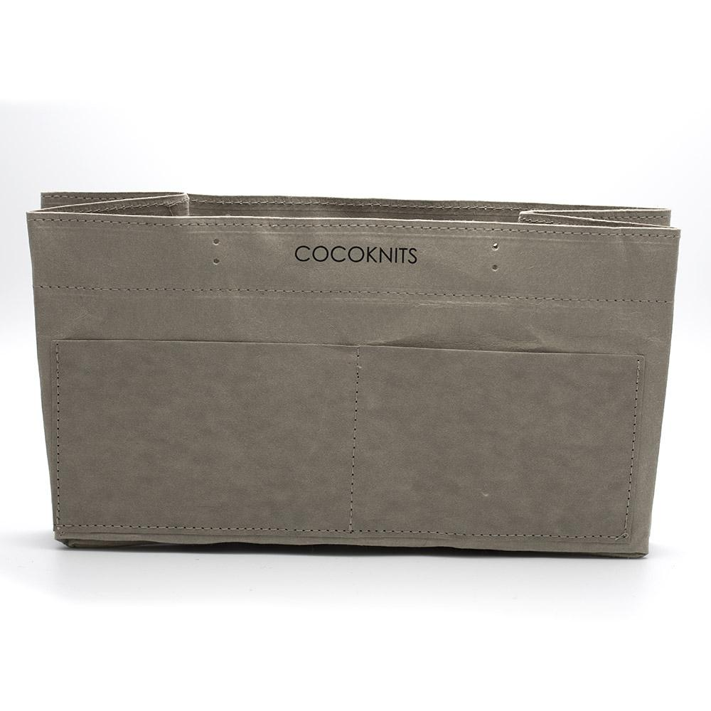 CocoKnits Kraft Caddy Grey