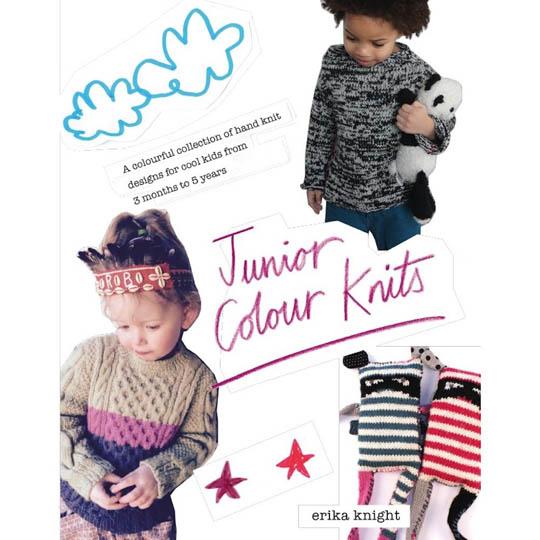 Erika Knight Junior Color Knits Book