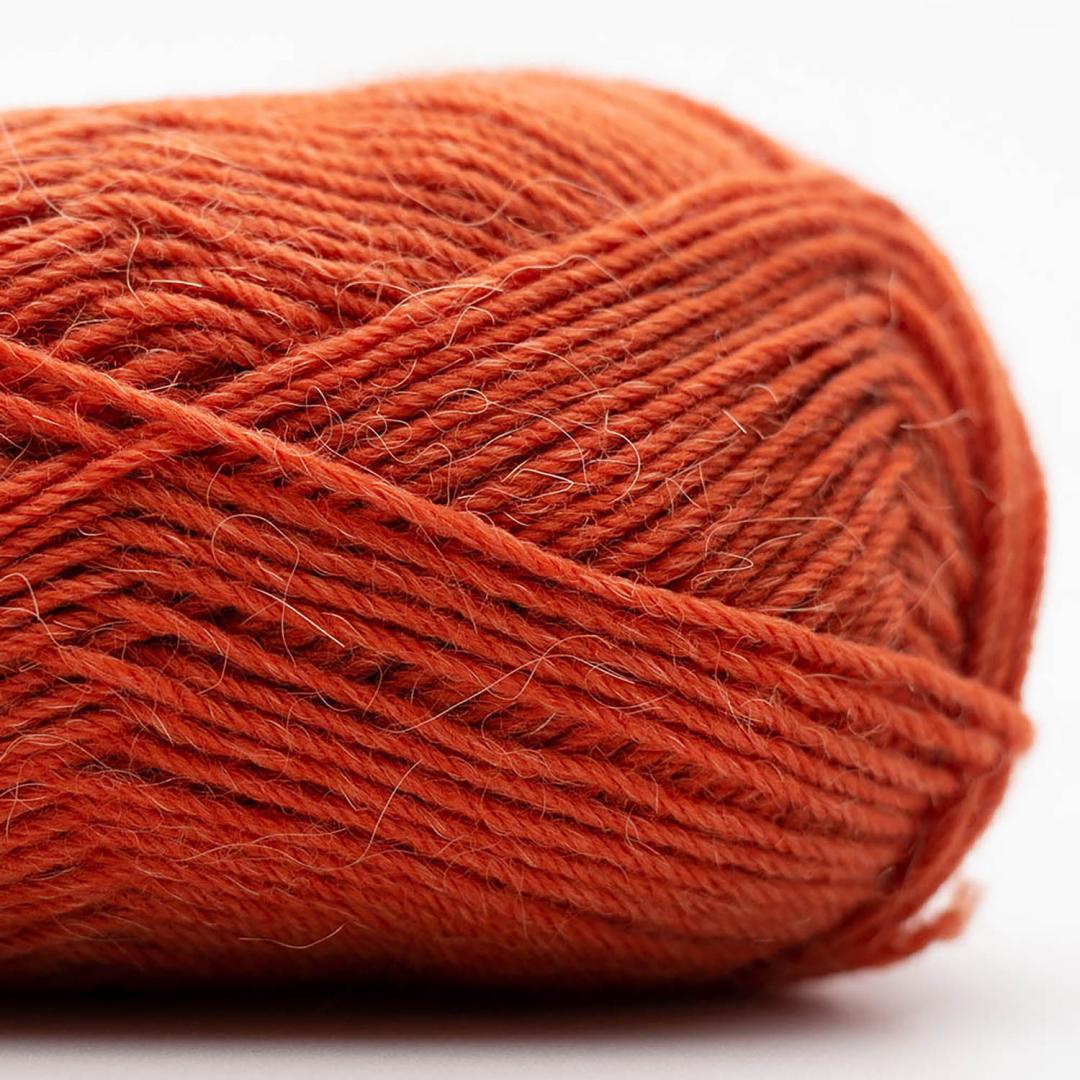 Kremke Soul Wool Edelweiss Alpaka 4-ply 25g Rost