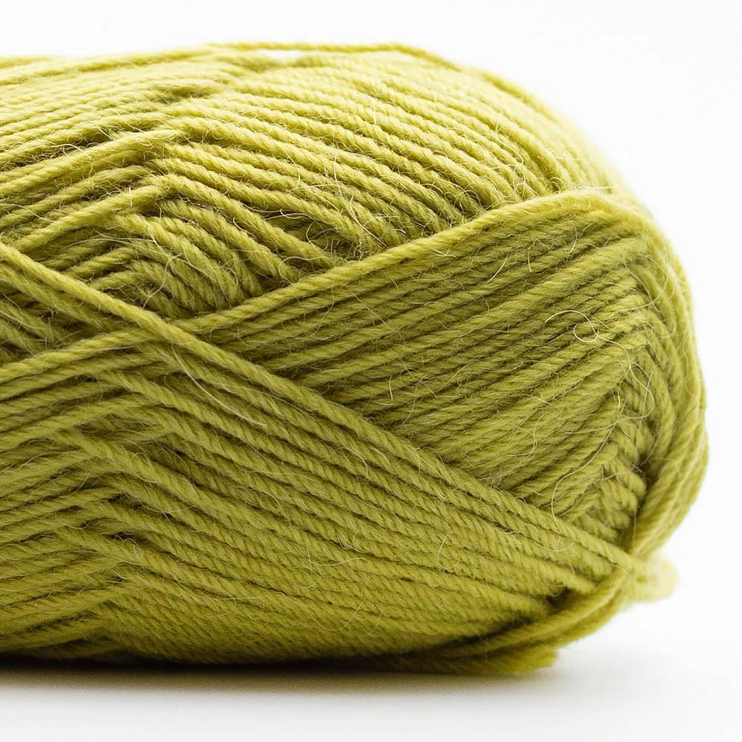 Kremke Soul Wool Edelweiss Alpaka 4-ply 25g Limette