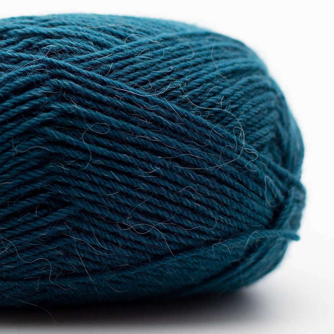 Kremke Soul Wool Edelweiss Alpaka 4-ply 25g Tiefblau