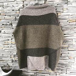 BC Garn Kit Oversize Sweater Melange GOTS