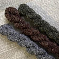 BC Garn Kit Oversize Sweater Melange GOTS Erde