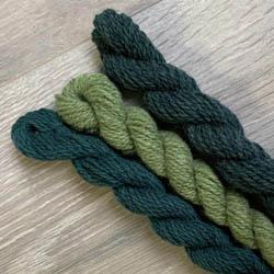 BC Garn Kit Oversize Sweater Melange GOTS Grün