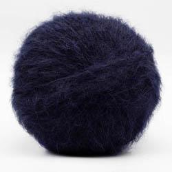 Kremke Soul Wool Baby Silk Fluffy solid Midnight Blue