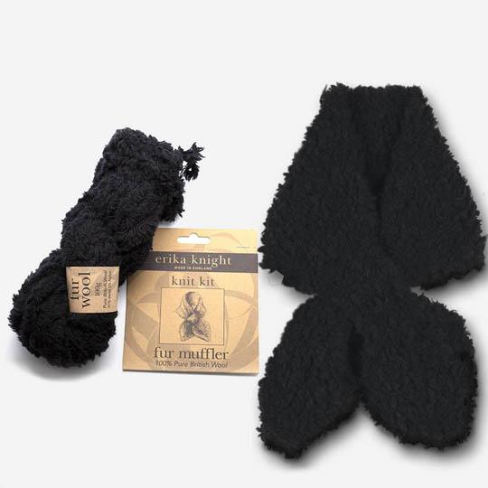 Erika Knight Fur Brim Hat Kit Pitch