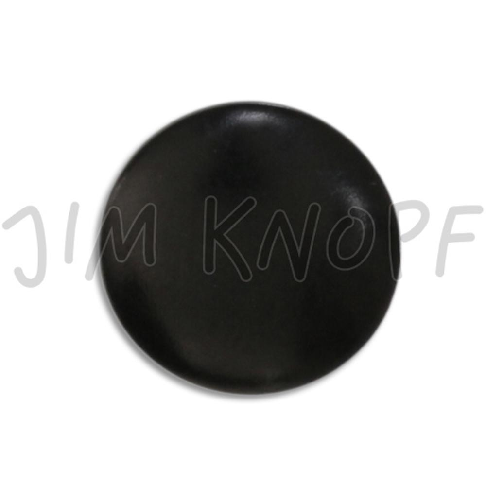 Jim Knopf Colorful buttons made from ivory nut 11mm Schwarz