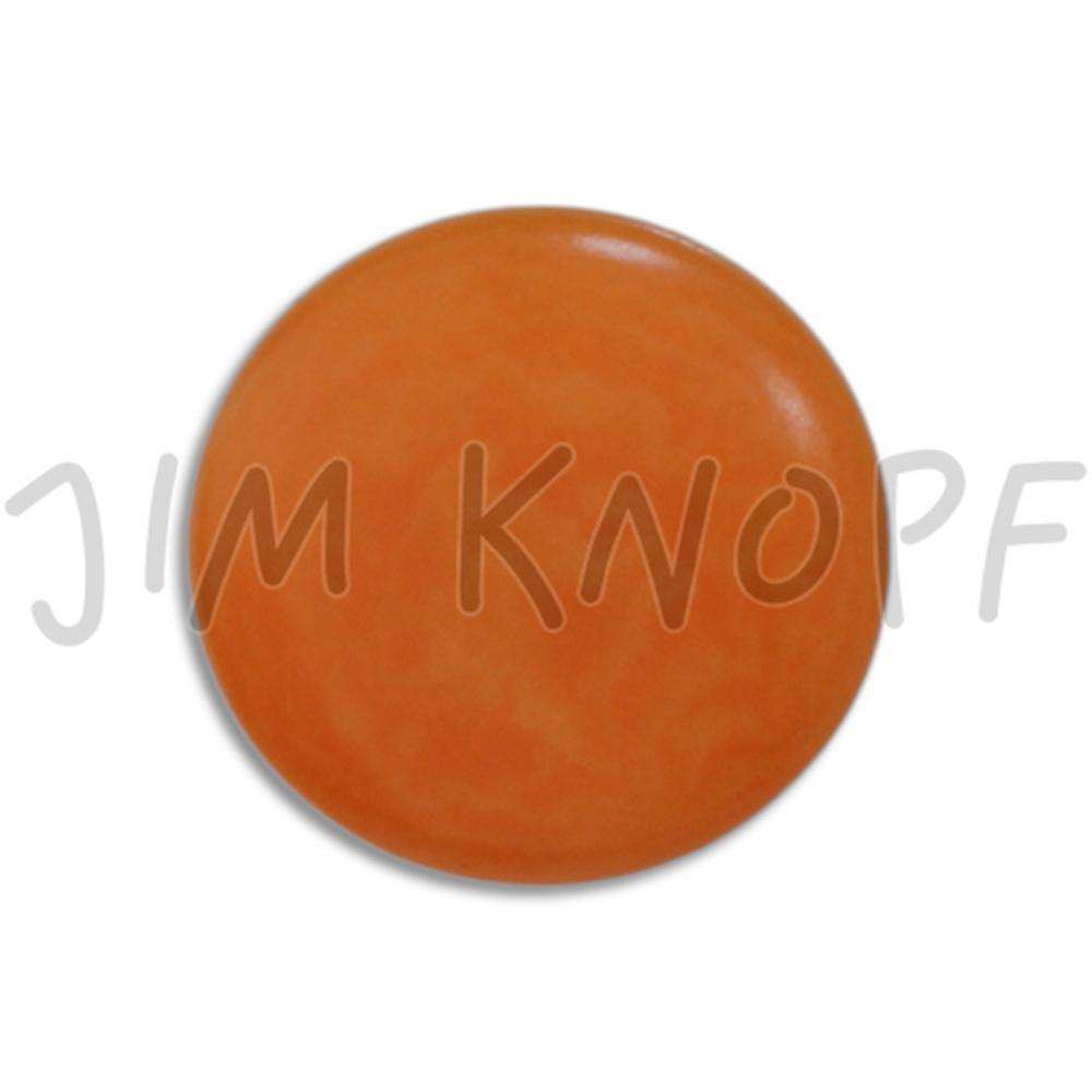 Jim Knopf Colorful buttons made from ivory nut 11mm Orange