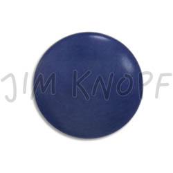 Jim Knopf Colorful buttons made from ivory nut 11mm Blau