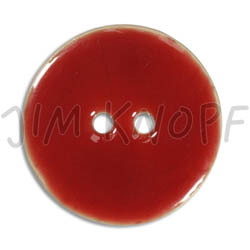 Jim Knopf Coco wood button like ceramics in several sizes Rot