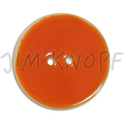Jim Knopf Coco wood button like ceramics in several sizes Orange