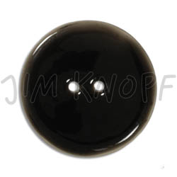 Jim Knopf Coco wood button like ceramics in several sizes Schwarz