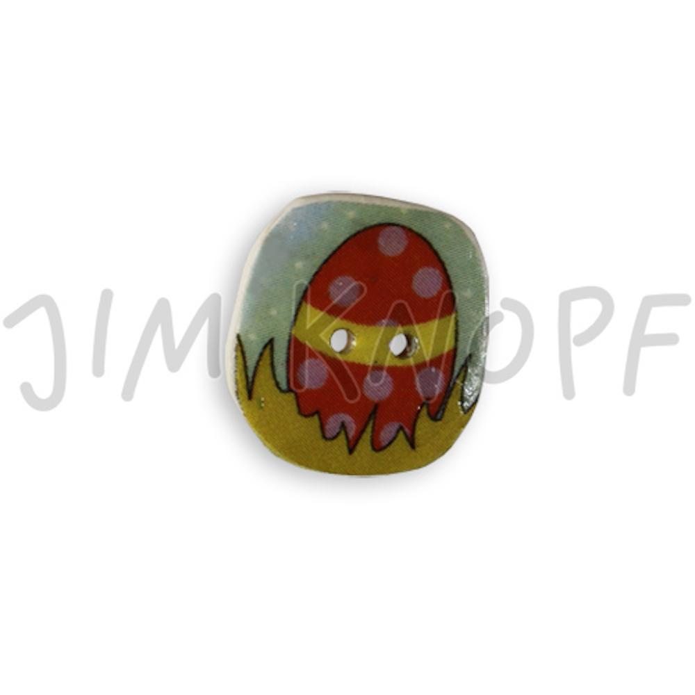 Jim Knopf Cocos button easter motivs  Ei