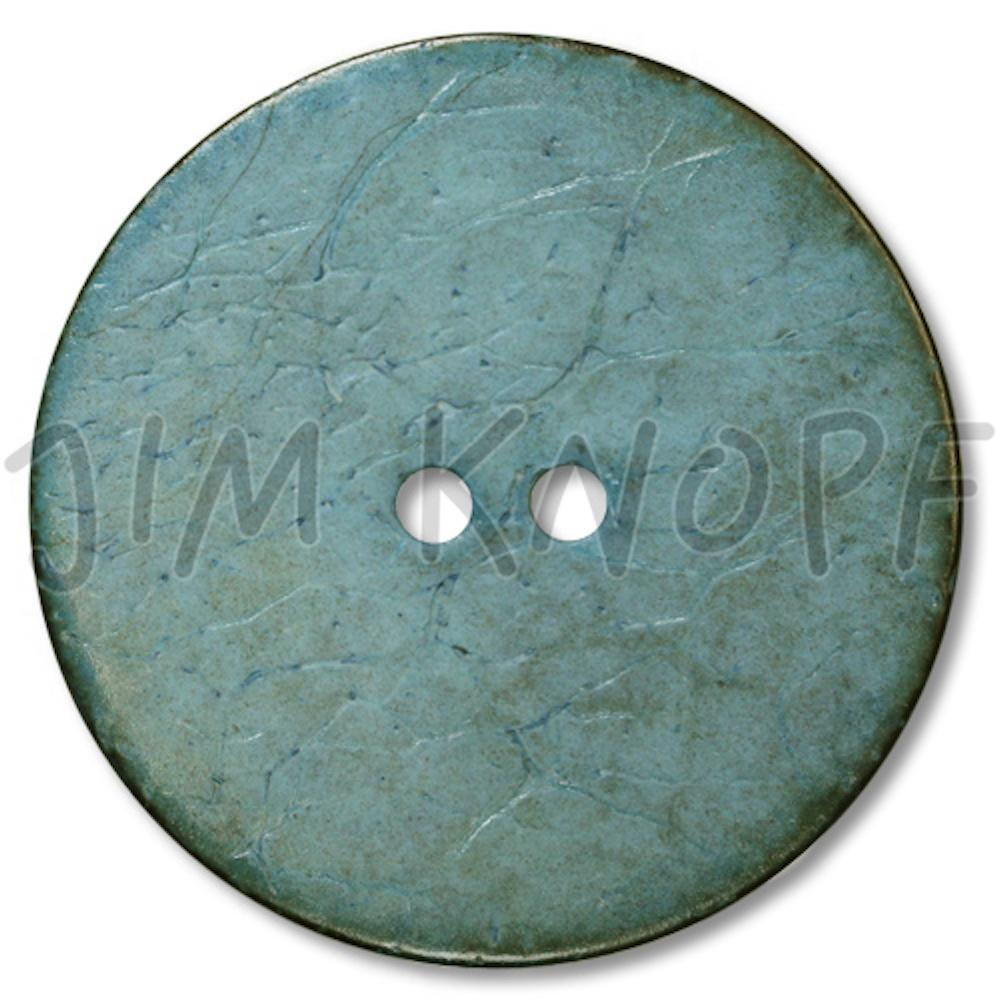 Jim Knopf Coco wood button flat 40mm Grau