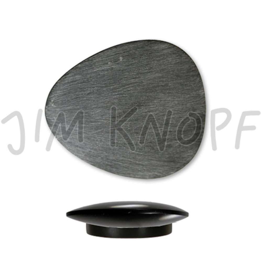Jim Knopf Triangular resin magnet 26 or 39mm Grau