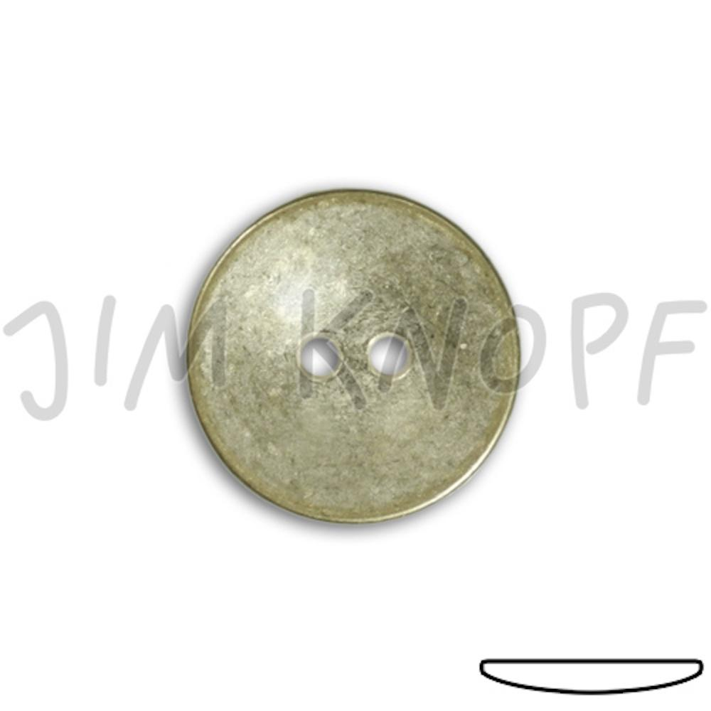Jim Knopf Extra flat metal button in several sizes Silber