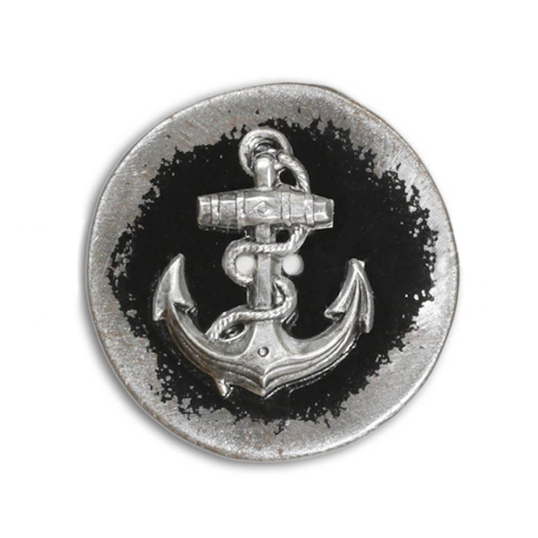 Jim Knopf Button from recycled crown cap 26mm