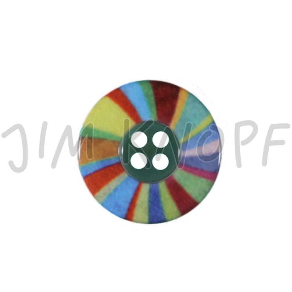 Jim Knopf Plastic button colorful wheel  Bunt 24