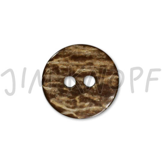 Jim Knopf Coco wood button with interesting texture several sizes Braun