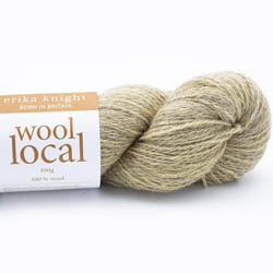 Erika Knight Knit Kits Wool Local Hat with pattern sleeves Ingleton Deutsch