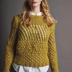 Erika Knight Trykte opskrifter til Maxi Wool discontinued designs Suburb Englisch