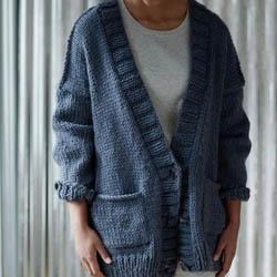 Erika Knight Trykte opskrifter til Maxi Wool discontinued designs Maxiwool Five PM Englisch