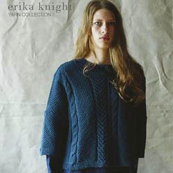 Erika Knight Trykte opskrifter til British Blue 100 discontinued designs Vanessa ENG