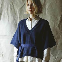 Erika Knight Trykte opskrifter til British Blue 100 discontinued designs Dora ENG