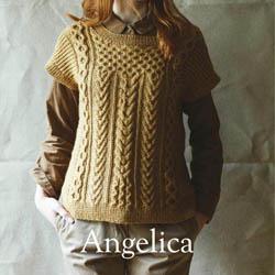 Erika Knight Trykte opskrifter til British Blue 100 discontinued designs Angelica ENG