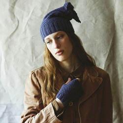 Erika Knight Trykte opskrifter til British Blue 100 discontinued designs Vita & Violet ENG