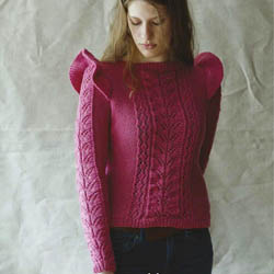 Erika Knight Trykte opskrifter til British Blue 100 discontinued designs Molly ENG