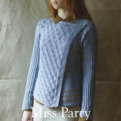 Erika Knight Trykte opskrifter til British Blue 100 discontinued designs Miss Parry ENG