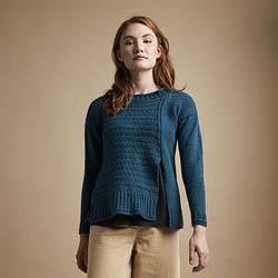 Erika Knight Trykte opskrifter til British Blue 100 discontinued designs Juno ENG
