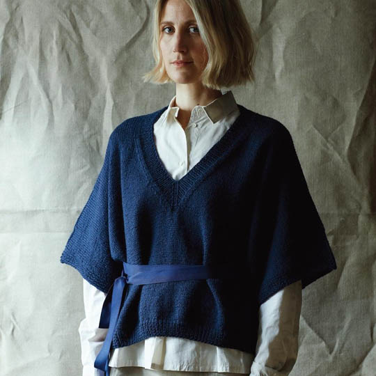 Erika Knight Trykte opskrifter til British Blue 100 discontinued designs